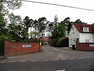 Downe House School school in Cold Ash, a village near Newbury, Berkshire, England