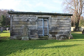 Henry Dundas, 1st Viscount Melville - The Dundas Vault in old Lasswade Kirkyard, containing the first five Viscounts Melville