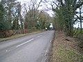 The Eccleshall (Hilcote) milepost in its setting - geograph.org.uk - 1748115.jpg