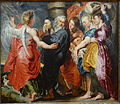 The Flight of Lot and His Family from Sodom (after Rubens), attributed to Jacob Jordaens, c. 1618-1620, oil on canvas - National Museum of Western Art, Tokyo - DSC08169.JPG