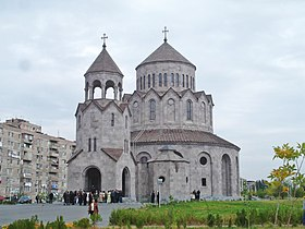 The Holy Trinity Church, Malatia-Sebastia district, Yerevan, Armenia adjusted.JPG
