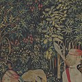 The Hunters Enter the Woods (from the Unicorn Tapestries) MET DP100993.jpg