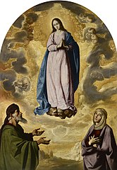 The Immaculate Conception with Saint Joachim and Saint Anne