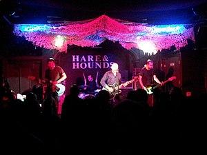 The Menzingers - The Menzingers in 2012 (Left to right: Greg Barnett, Joe Godino, Tom May, Eric Keen.)