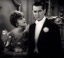 Jeanette MacDonald en Maurice Chevalier in The Merry Widow