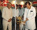 "The Minister of State of the Ministry of Food Processing Industries (Independent charge), Shri Subodh Kant Sahai lighting the lamp to inaugurate ""Food Technology Expo-2007"", in New Delhi on August 22, 2007.jpg"