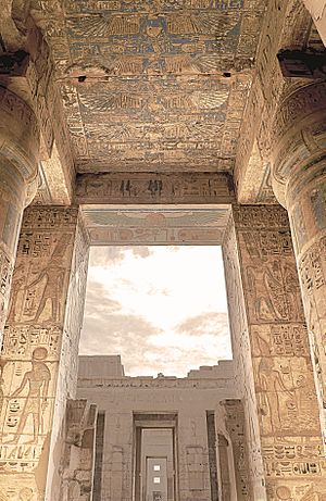 Medinet Habu (location) - The Mortuary Temple of Ramesses III