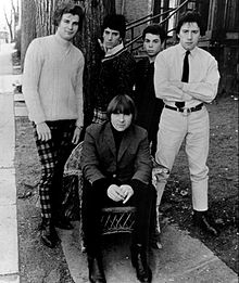 The band in 1967