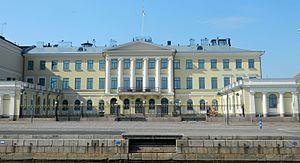 Presidential Palace, Helsinki - Another waterfront view