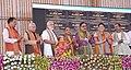The Prime Minister, Shri Narendra Modi launching several development projects, at a function, in Varanasi, Uttar Pradesh.jpg