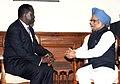 The Prime Minister of Kenya, Mr. Raila Odinga calling on the Prime Minister, Dr. Manmohan Singh, in New Delhi on November 16, 2010.jpg