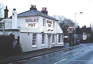 Runwell - The Quart pot pub, Runwell