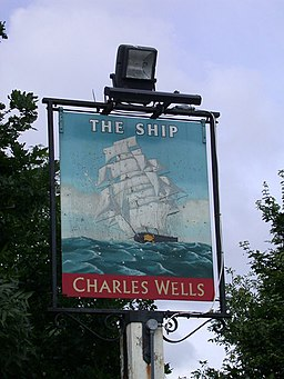The Ship - pub sign - geograph.org.uk - 851575
