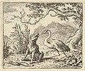 The Stork Removes a Bone from the Wolf's Throat from Hendrick van Alcmar's Renard The Fox MET DP837681.jpg