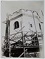 The Tarvaspää atelier house tower under reconstruction ca. 1926-30. (27835026752).jpg