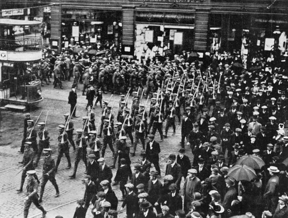 The Ulster Volunteer Force, Belfast, Northern Ireland, 1914 Q81771