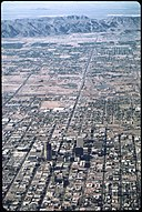 The View of Phoenix's Urban Sprawl from 4000 Ft. South Mountain in Background , 6 1972.jpg