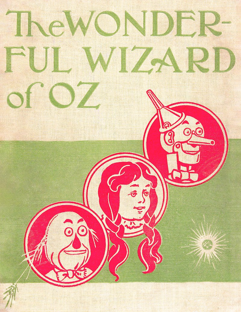 By The Wonderful Wizard of Oz / By L. Frank Baum; With Pictures by W.W. Denslow. Published: Chicago ; New York : G.M. Hill Co., 1900. - From the Library of Congress Online Catalog. The image page is here and the description page is here., Public Domain, https://commons.wikimedia.org/w/index.php?curid=3090042