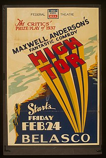 1936 play by Maxwell Anderson