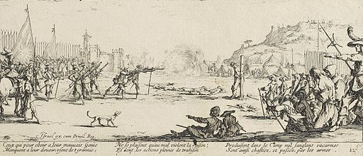 The firing squad by Jacques Callot