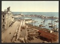 The harbor and admiralty, Algiers, Algeria-LCCN2001696369.tif