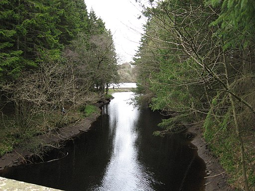 The inflow to Edgelaw Reservoir - geograph.org.uk - 2361548
