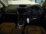 The interior of Subaru 5AA-SKE FORESTER Advance.jpg