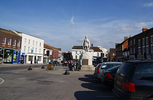 The market square, Wantage - geograph.org.uk - 1817290