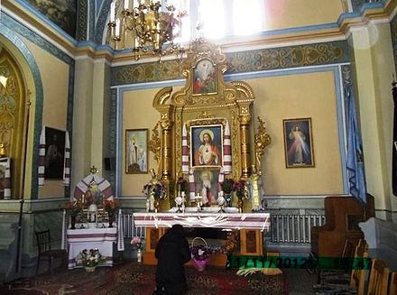 Stryi. The relics of the blessed of Josaphat Kotsylovsky.JPG The relics of the blessed of Josaphat Kotsylovsky.JPG