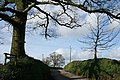 Thelbridge, entrance to Woodford Farm - geograph.org.uk - 360171.jpg