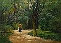 Theodor Ohlsen - Dame mit Kind beim Spaziergang.jpg