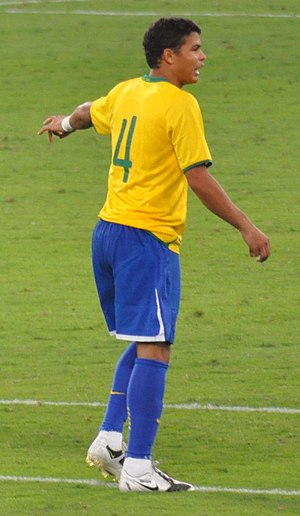 Thiago Silva during Brazil-England in Doha, 14...