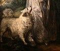 Thomas gainsborough, mr e mrs william hallett (la passeggiata mattutina), 1785, 04 cane.jpg