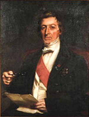 Thomas Brisbane - Image: Thomasbrisbane