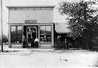 F. C. Porter Dry Goods of Thorp, Washington. 1915