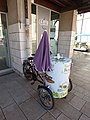 Three wheeled bike outside the tourism office - Beaune (35305667926).jpg