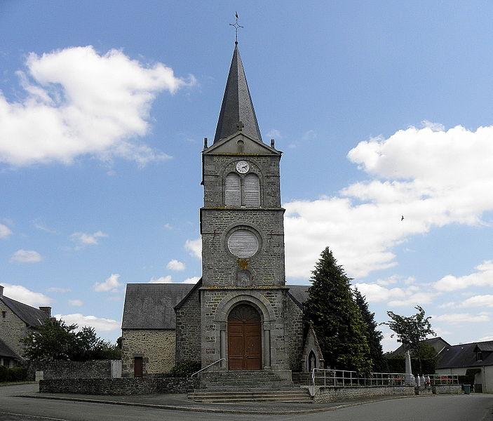 Église Saint-Martin de Thubœuf (53).