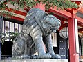 Tiger by honden - Kurama-dera - Kyoto - DSC06698.JPG