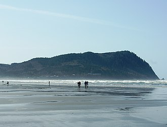 Tillamook Head - Image: Tillamook Head from Seaside Oregon