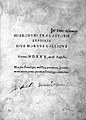 """Title page """"Syphilis sive morbus gallicus"""",1530 Wellcome L0000601.jpg"""