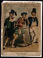 Tobacco; an Irishman, a Scot and an English sailor smoke, ta Wellcome V0019117.jpg