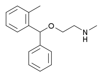 Tofenacin - Image: Tofenacin structure
