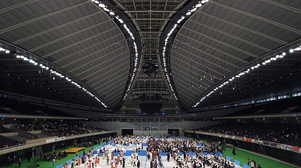 Tokyo Metropolitan Gymnasium Interior