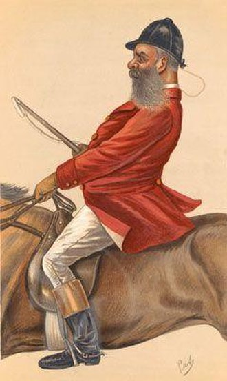 Tom Nickalls - Caricature published in Vanity Fair in 1885.