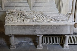 Ælfwine of Wells - Tomb in Wells Cathedral