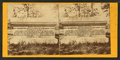 Tomb of unknown soldiers of Bull Run and the route to the Rappahannock, from Robert N. Dennis collection of stereoscopic views.png