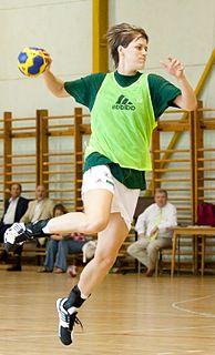 Zsuzsanna Tomori Hungarian handball player