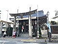 Torii and Romon Gate of Kushida Shrine 2.jpg