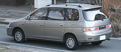 Toyota Gaia rear view