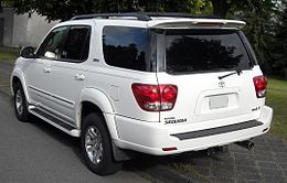 Toyota Sequoia rear 20090606.jpg